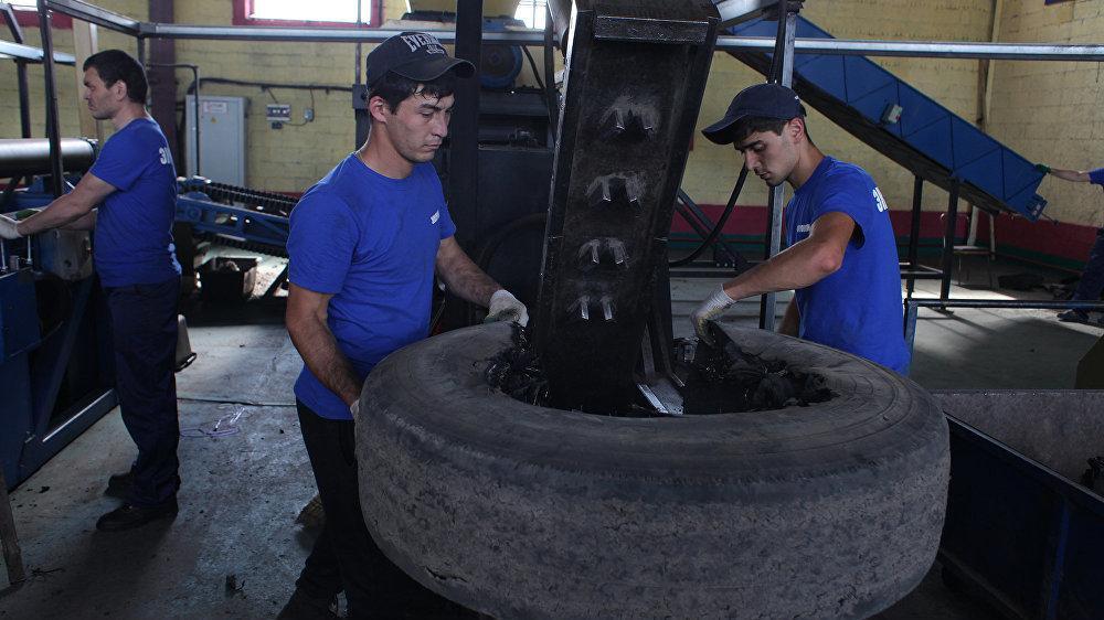 Ялта страдает от отсутствия системы сбора и утилизации отработанных шин