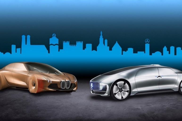 BMW и Mercedes подружились ради автопилота