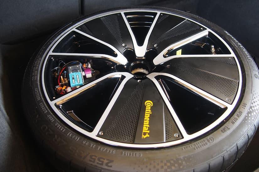 Continental представила систему регулировки давления в шинах на ходу