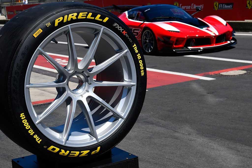 Пирелли изготовила 10 000 эксклюзивных шин для программы Ferrari XX