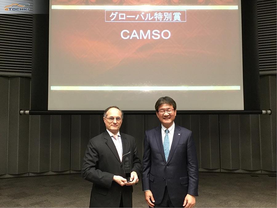 Toyota отметила Camso двумя премиями для лучших поставщиков
