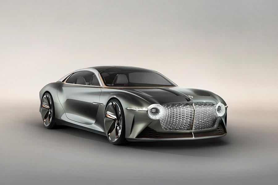 Bentley отмечает столетие ярким концептом