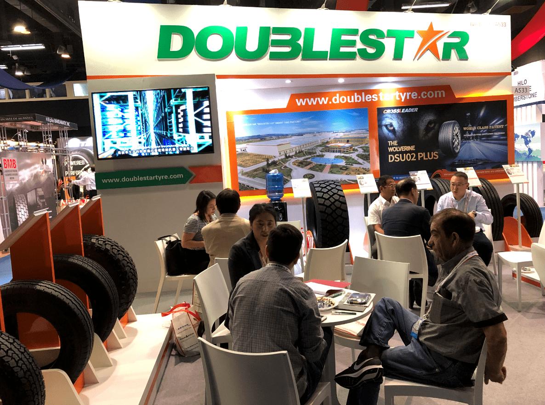 Doublestar привезла на выставку в Панаму шины своего премиум-бренда Crossleader