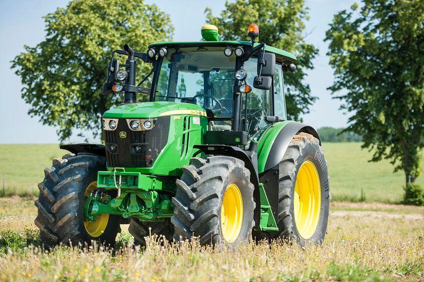 Continental будет поставлять John Deere шины для тракторов средней мощности