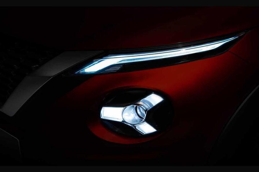 Nissan показал фару нового поколения Juke