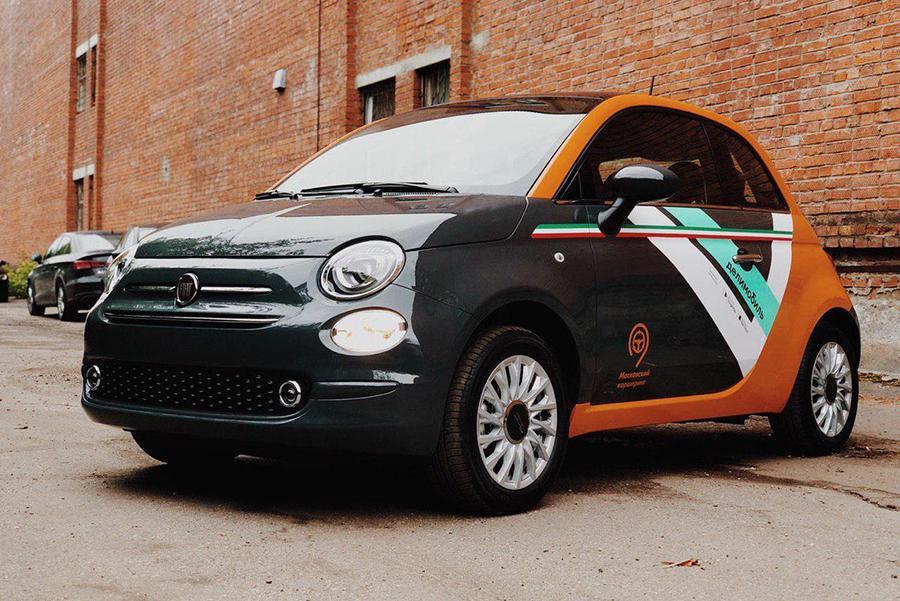 Fiat 500 приходит в столичный каршеринг