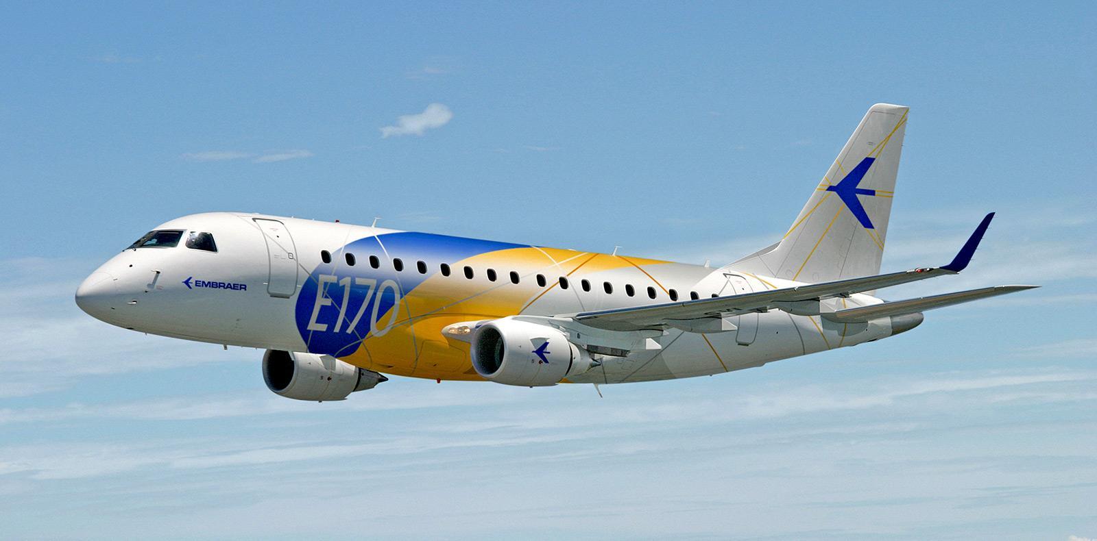 Бразильский Embraer E170 получит новые авиашины Michelin Air X M19602