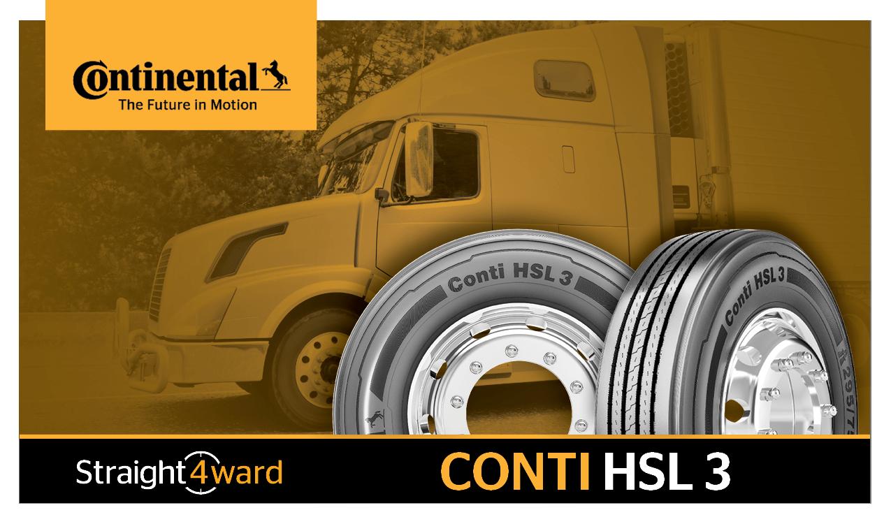 Continental Tire переименовывает модели грузовых шин