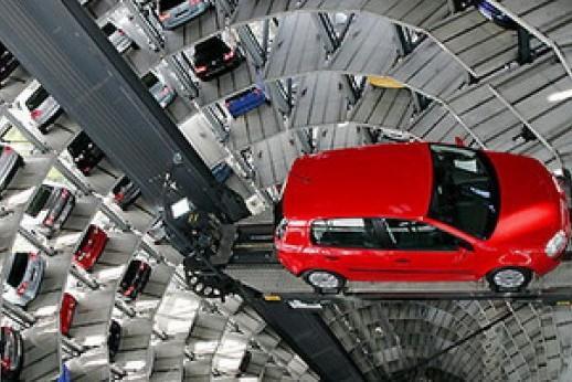 Подмосковье поставит роботизированные парковки