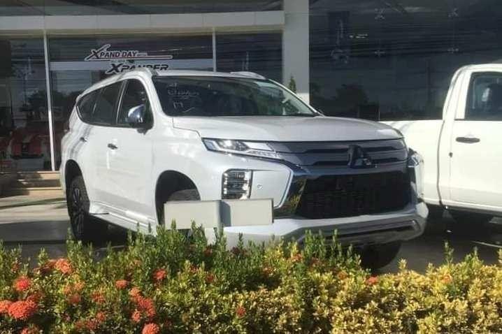 Обновленный Mitsubishi Pajero Sport заметили без камуфляжа