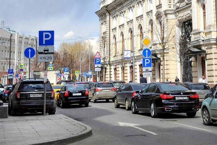 Парковочные места хотят сузить