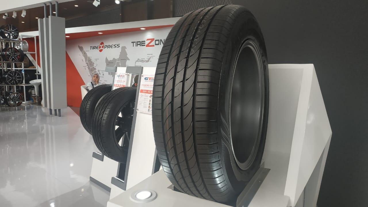 На автосалоне GIIAS 2019 дебютировала новая премиум-шина GT Radial Champiro Luxe