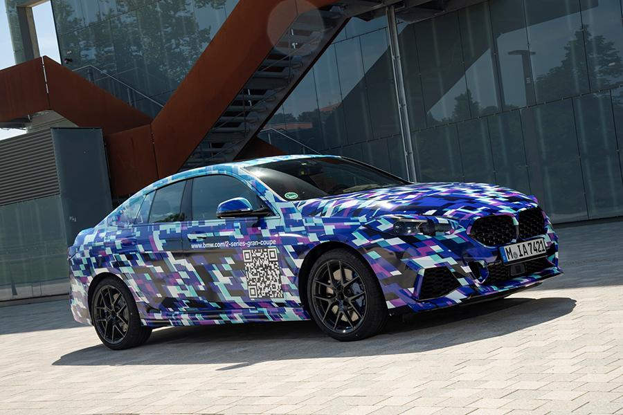BMW показал 2-Series Gran Coupe в камуфляже