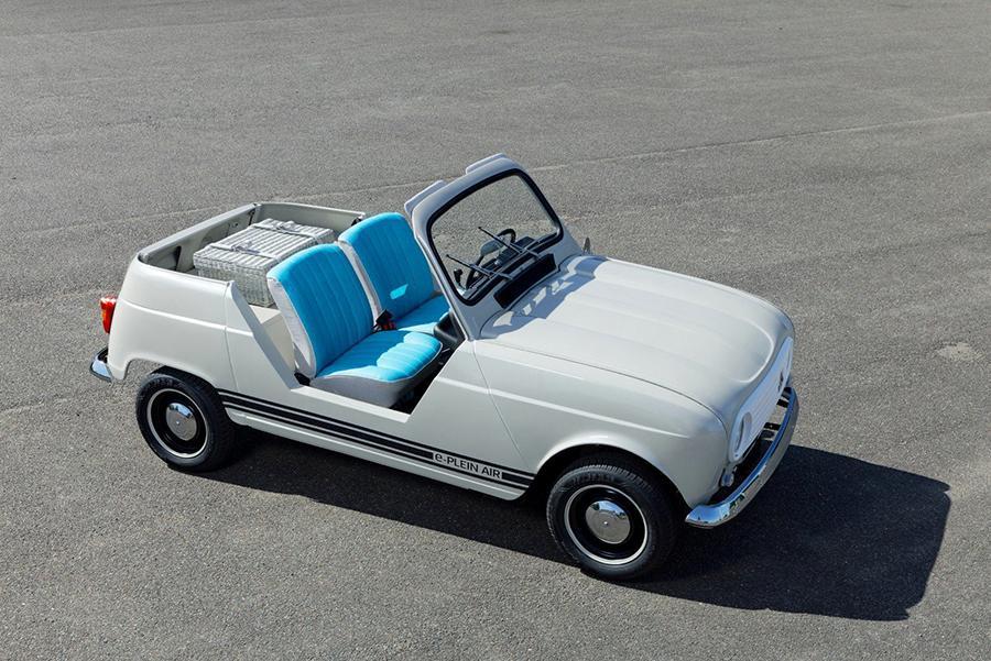 Компания Renault возродила ретро-модель на современных агрегатах