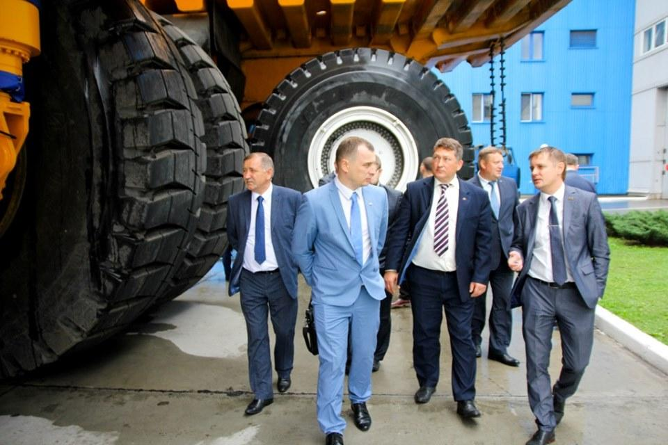«Белшина» и «БелАЗ» выбирают перспективные направления сотрудничества