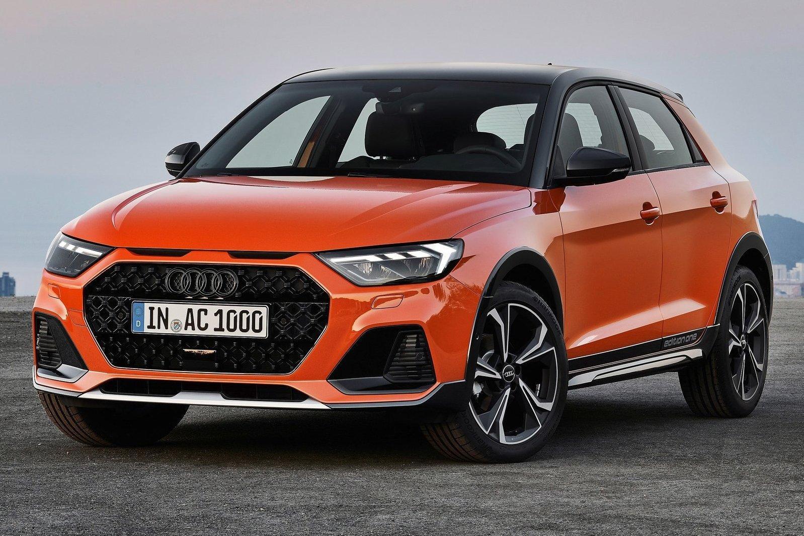 Audi сделала из А1 «внедорожник»