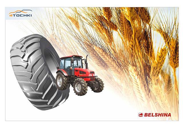 «Белшина» готовит к серийному производству новую линейку широкопрофильных шин для сельхозтехники