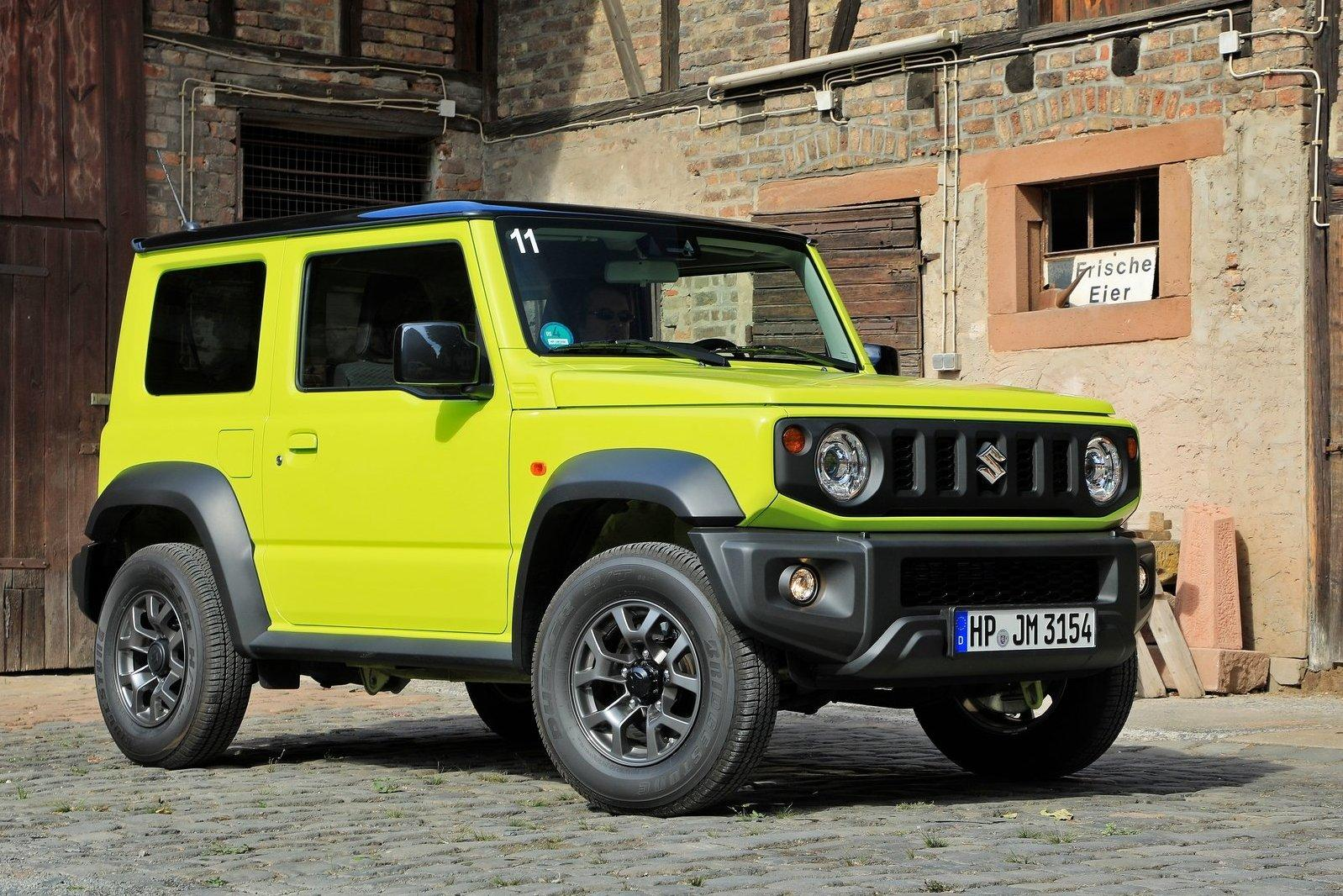 Дан старт российским продажам Suzuki Jimny