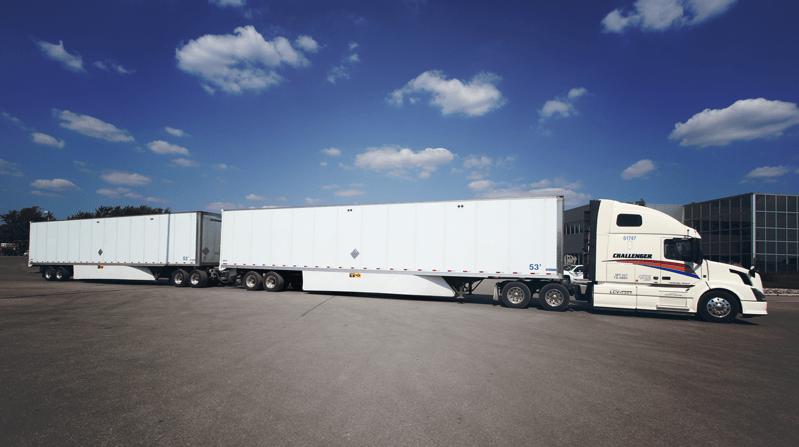 Hankook Tire будет поставлять грузовые шины канадской компании Challenger Motor Freight