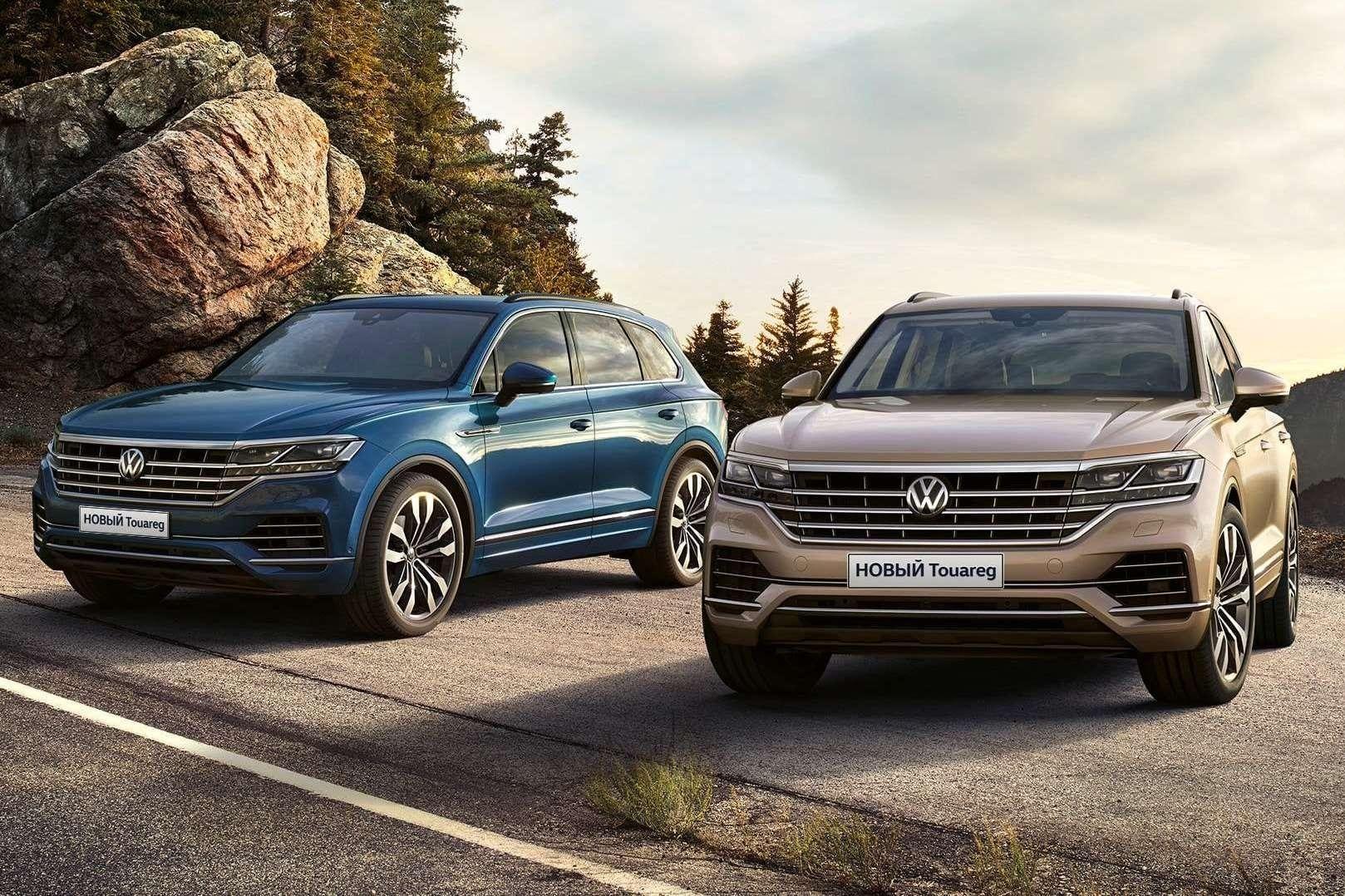 На российском рынке изменилось оснащение Volkswagen Touareg
