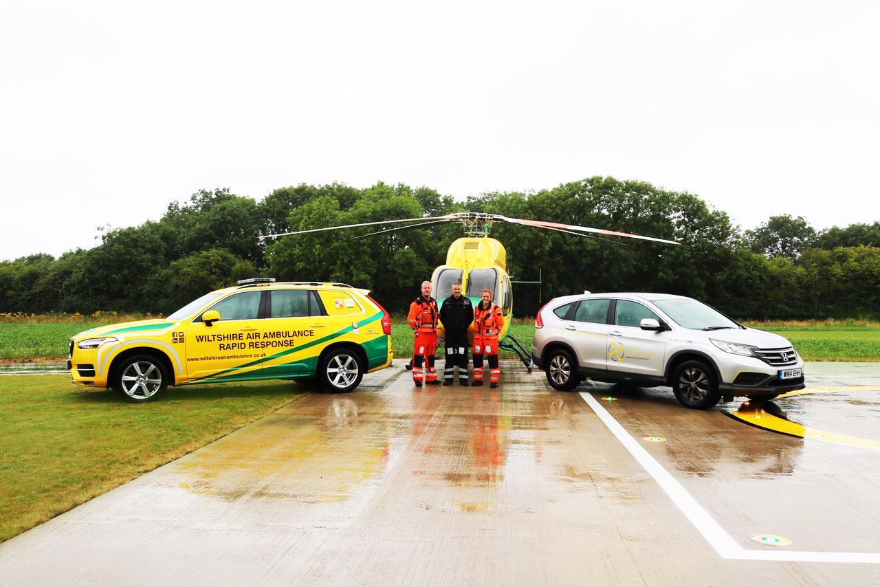 Cooper Tire будет поставлять свои шины для службы спасения Wiltshire Air Ambulance