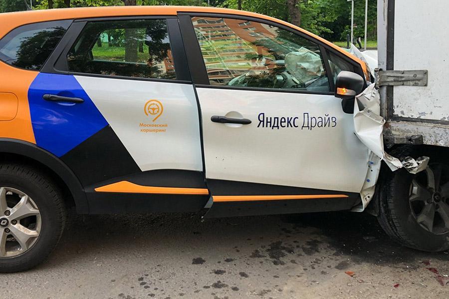 ГИБДД рассказала о количестве аварий с каршерингом