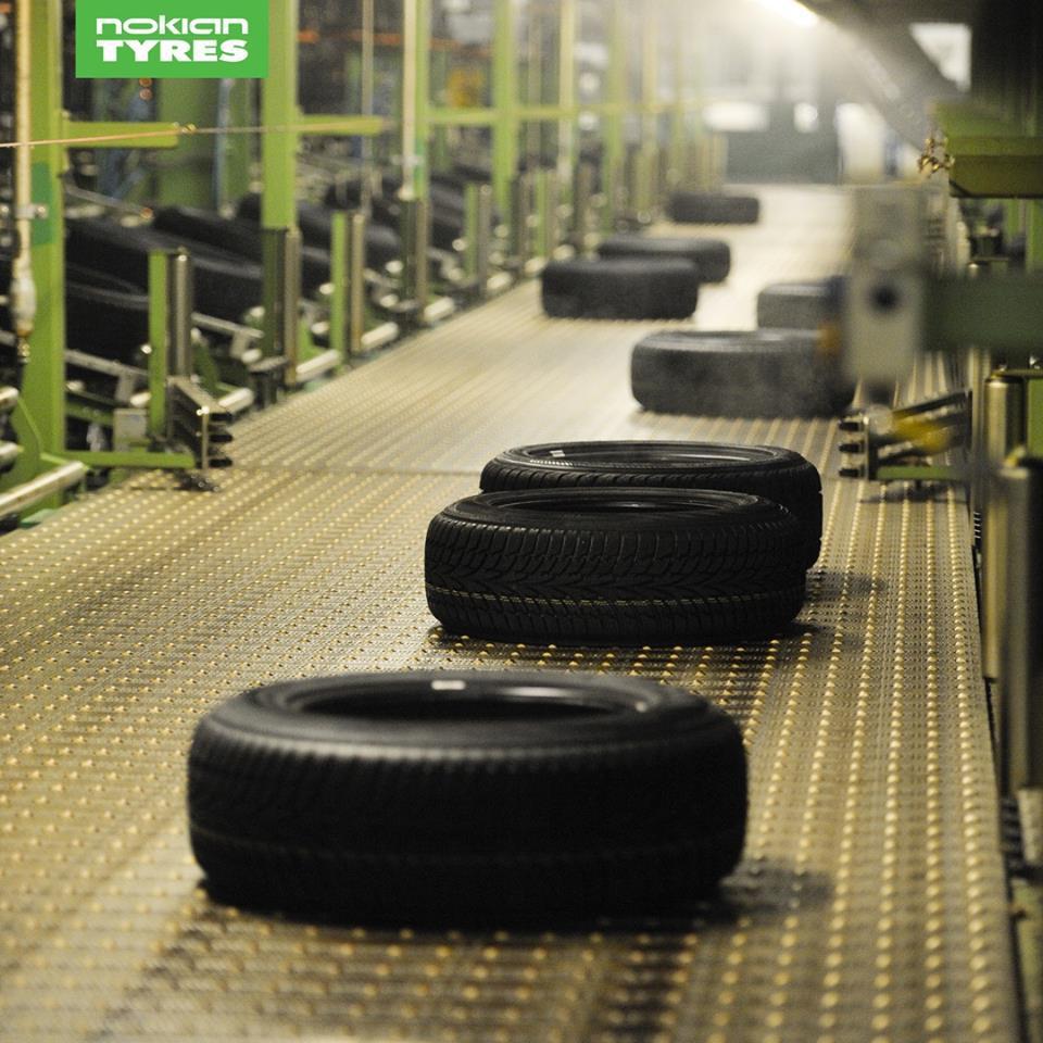 Чистая прибыль Nokian Tyres в I полугодии выросла в 2 раза