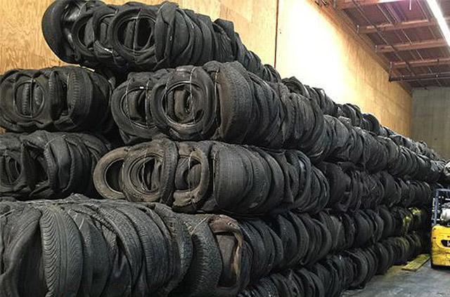 Южная Корея обеспокоена японским импортом отработанных шин с повышенным радиационным фоном
