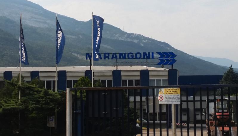 Marangoni восстановила производство на заводе легковых шин в Роверето