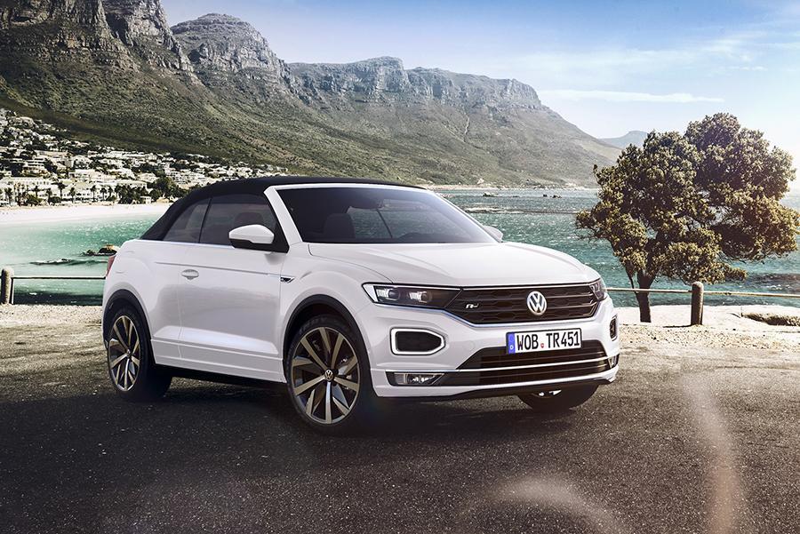 Volkswagen сделал T-Roc кабриолетом