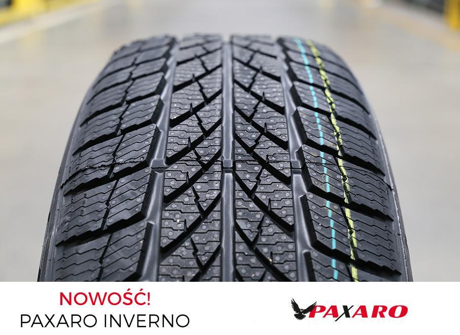 Польская Paxaro представила новые зимние пассажирские шины Inverno
