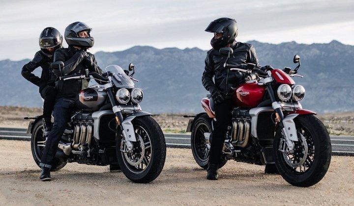 Новые мотоциклы Triumph Rocket 3 получат шины Avon со змеиной кожей