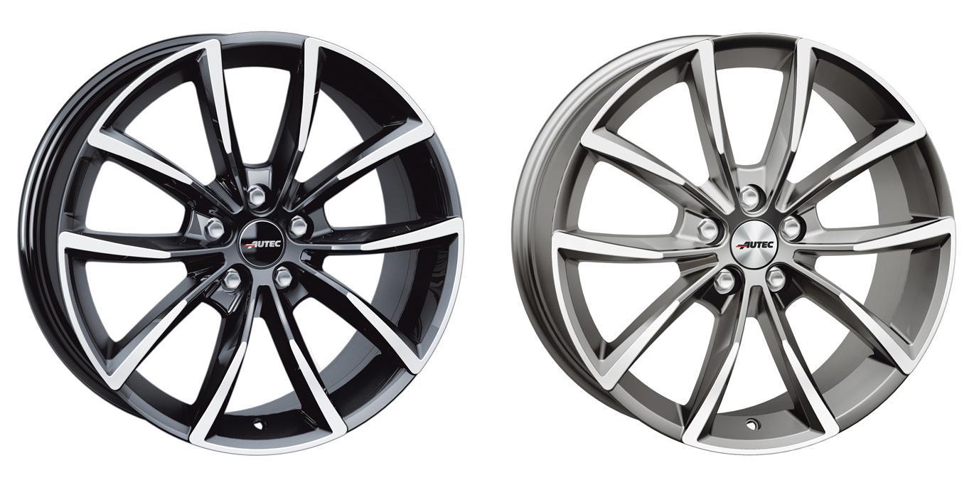 Autec GmbH представила новые модели всесезонных колесных дисков Astana