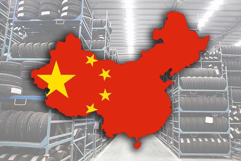 Объем импорта грузовых шин из Китая в страны ЕС сократился в 10 раз