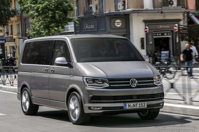 Volkswagen объявил отзыв для модели Multivan