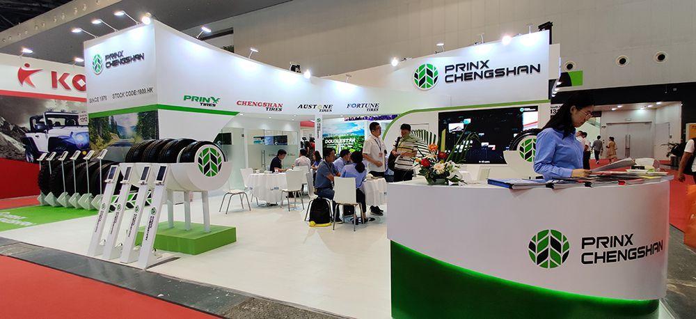 Prinx Chengshan представила на CITEXPO 2019 шины четырех брендов