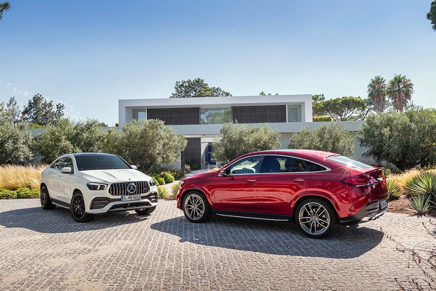Mercedes выкатил GLE Coupe второго поколения
