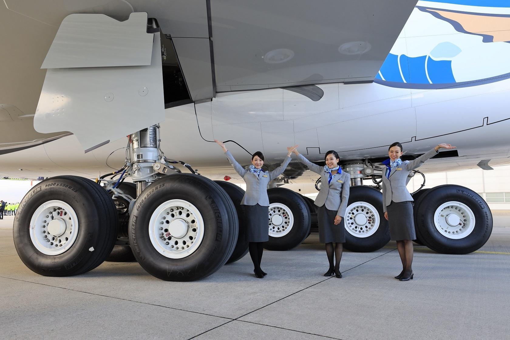Мишлен привезла на МАКС-2019 авиационные экошины Michelin Air X