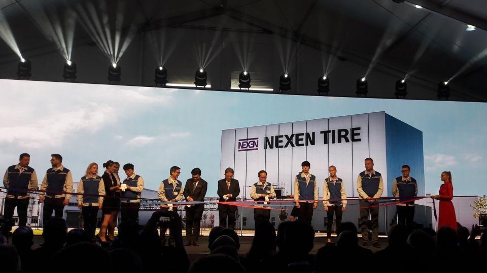 В Чехии официально открыли новый завод Nexen Tire Europe
