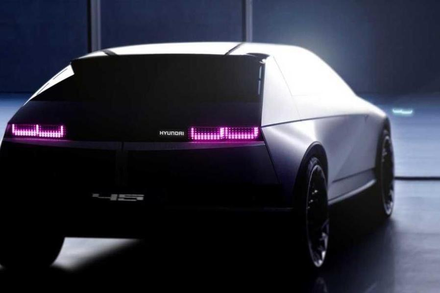 Компания Hyundai выложила второй тизер концепта 45