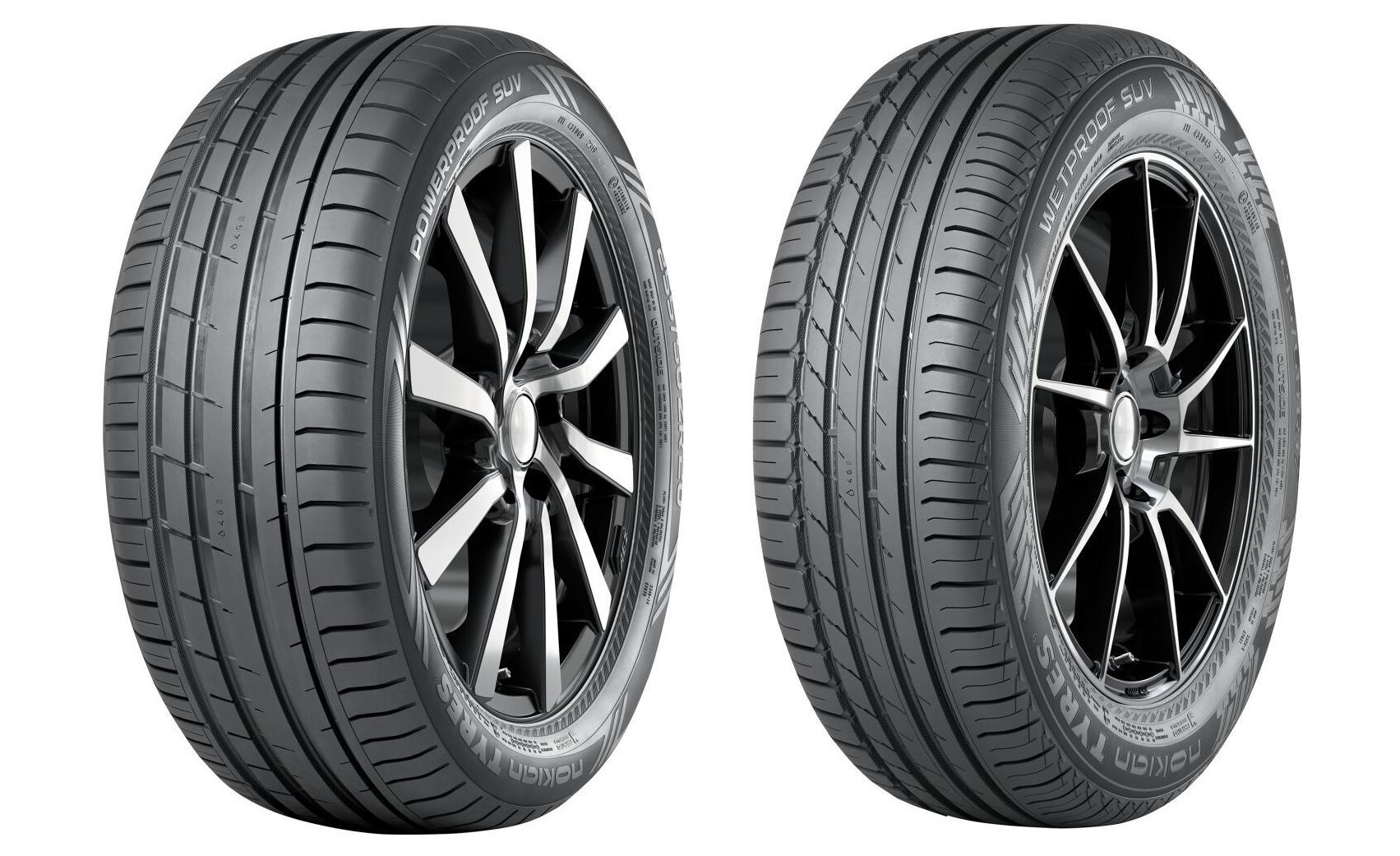 Nokian Tyres представила новые модели летних шин Powerproof SUV и Wetproof SUV