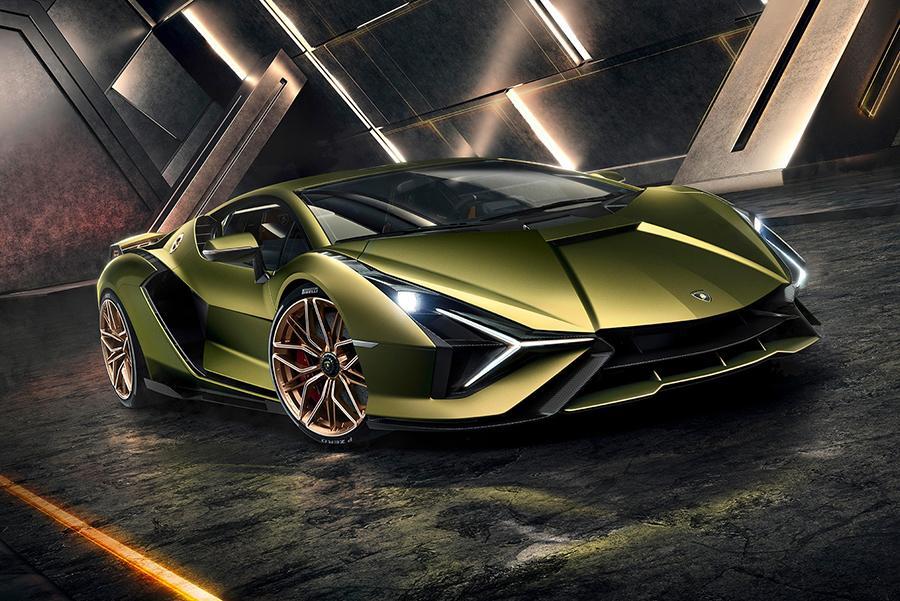 Автосалон во Франкфурте 2019: Lamborghini Sian