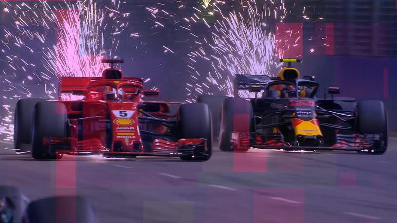 В Пирелли подтвердили командный выбор сликов на Гран-при Сингапура