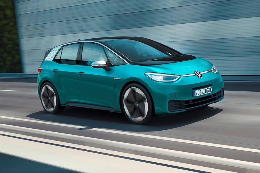 Автосалон во Франкфурте 2019: Volkswagen ID.3