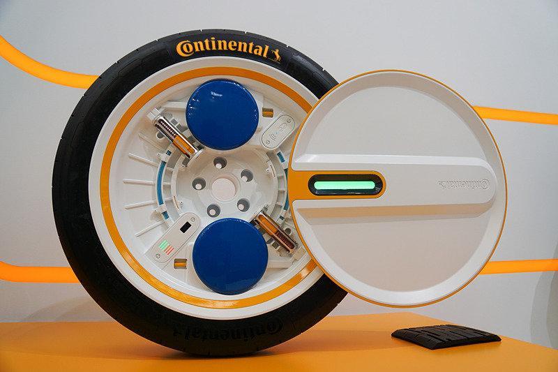 Колесная система Conti C.A.R.E. - новое решение для мобильности будущего от Continental