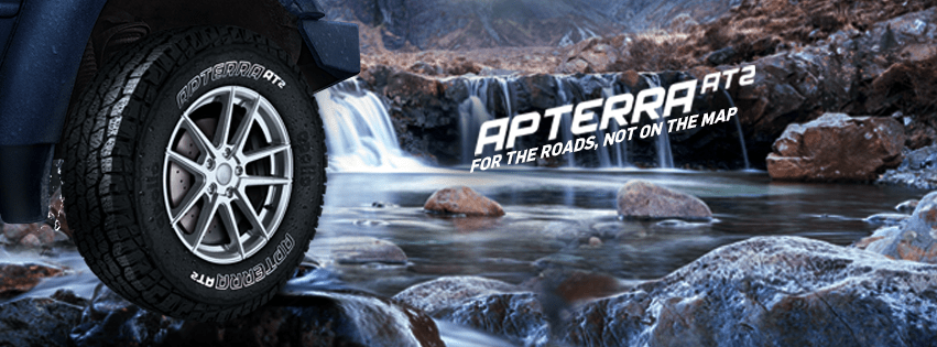 Новые SUV-шины Apollo Apterra AT2 готовы к дебюту на индийском рынке