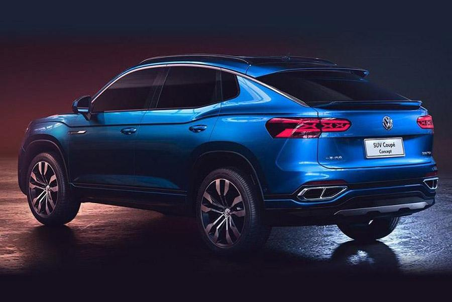 Volkswagen выложил первые фото купе-кроссовера для Китая