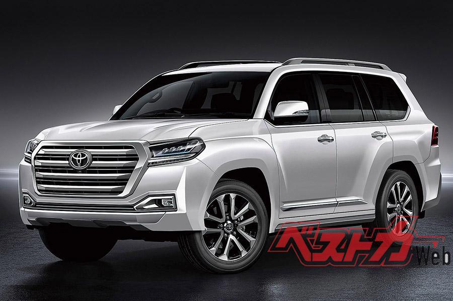 Есть новые подробности о Toyota Land Cruiser 300