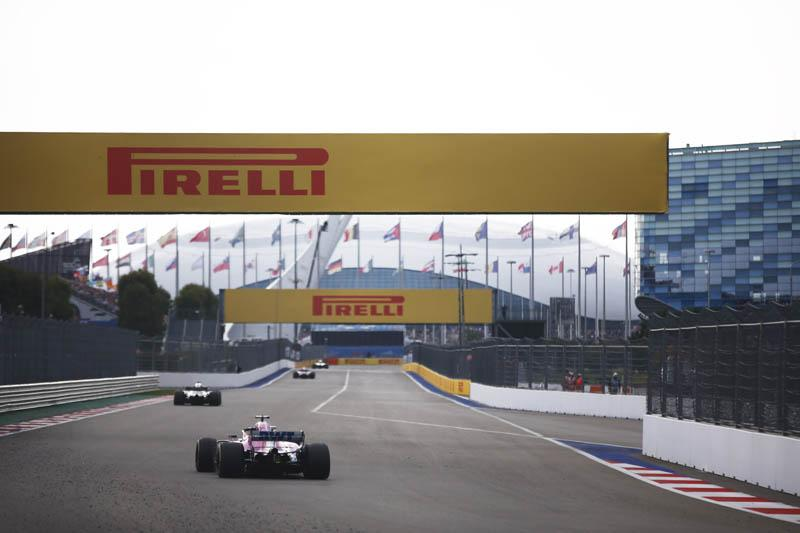 В Пирелли подтвердили командный выбор сликов на Гран-при России