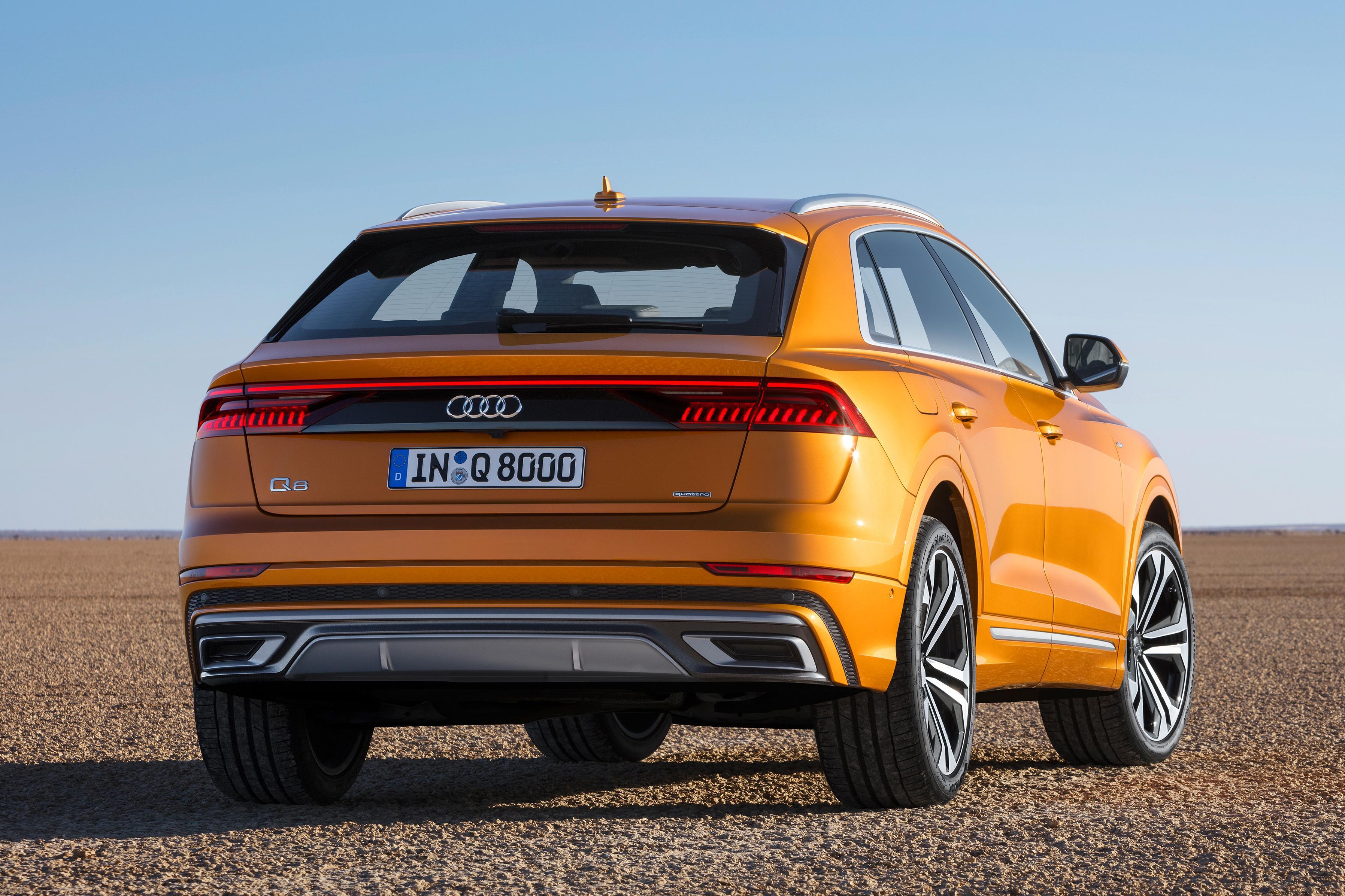 Зимние и летние шины Hankook вошли в список стандартного оборудования новых Audi Q8